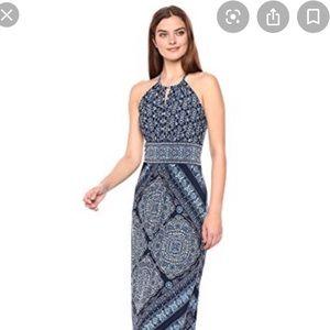 BRAND NEW London Times Maxi key-whole dress